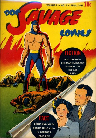 Cover for Doc Savage Comics (Street and Smith, 1940 series) #v2#2 [14]