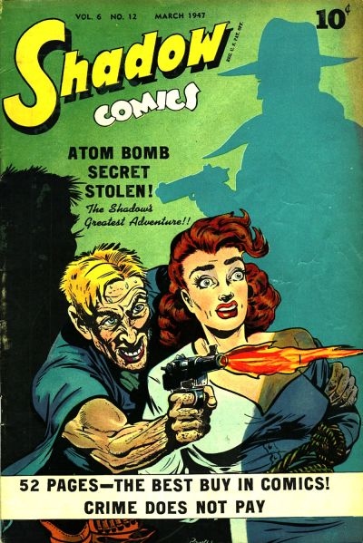 Cover for Shadow Comics (Street and Smith, 1940 series) #v6#12 [72]