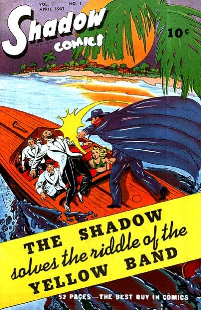 Cover for Shadow Comics (Street and Smith, 1940 series) #v7#1 [73]