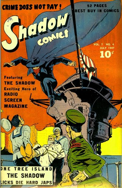 Cover for Shadow Comics (Street and Smith, 1940 series) #v7#4 [76]