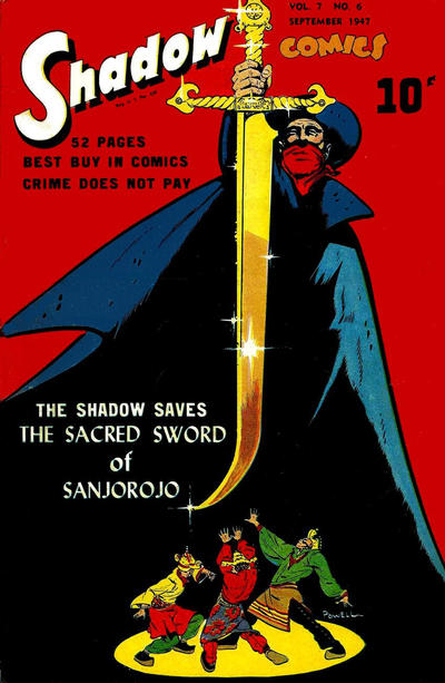Cover for Shadow Comics (Street and Smith, 1940 series) #v7#6 [78]