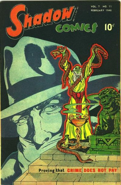 Cover for Shadow Comics (Street and Smith, 1940 series) #v7#11 [83]