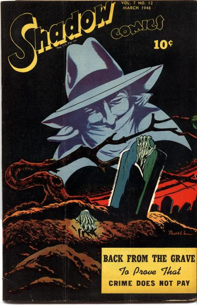 Cover for Shadow Comics (Street and Smith, 1940 series) #v7#12 [84]