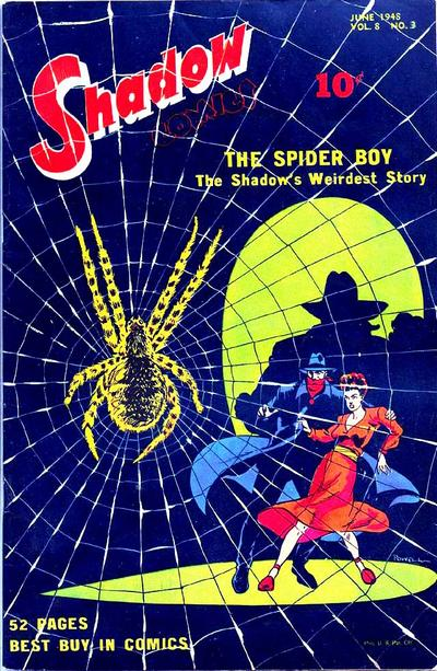 Cover for Shadow Comics (Street and Smith, 1940 series) #v8#3 [87]