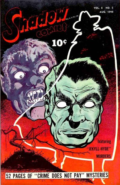 Cover for Shadow Comics (Street and Smith, 1940 series) #v8#5 [89]