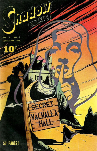 Cover for Shadow Comics (Street and Smith, 1940 series) #v8#6 [90]