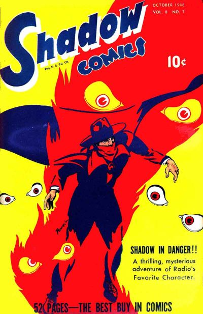 Cover for Shadow Comics (Street and Smith, 1940 series) #v8#7 [91]