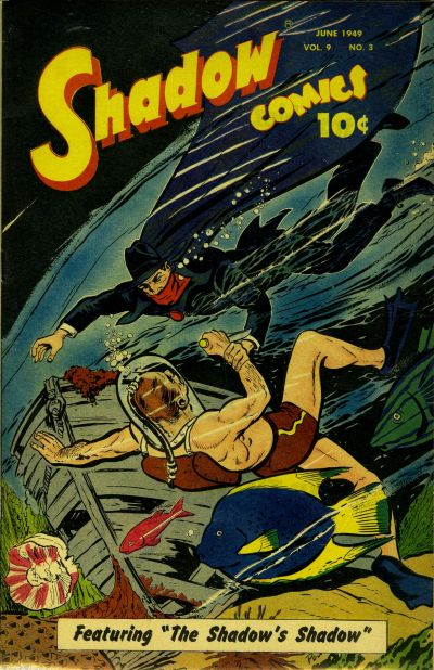 Cover for Shadow Comics (Street and Smith, 1940 series) #v9#3 [99]