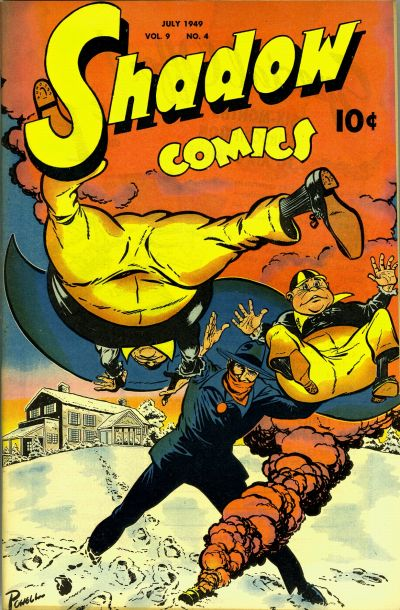 Cover for Shadow Comics (Street and Smith, 1940 series) #v9#4 [100]