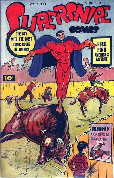 Cover for Supersnipe Comics (Street and Smith, 1942 series) #v2#8 [20]