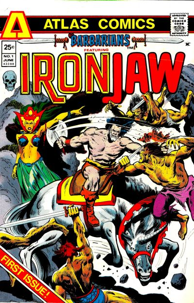 Cover for Barbarians (Seaboard, 1975 series) #1