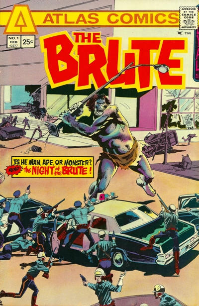 Cover for The Brute (Seaboard, 1975 series) #1