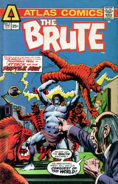 Cover for The Brute (Seaboard, 1975 series) #2