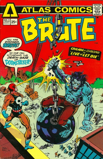 Cover for The Brute (Seaboard, 1975 series) #3