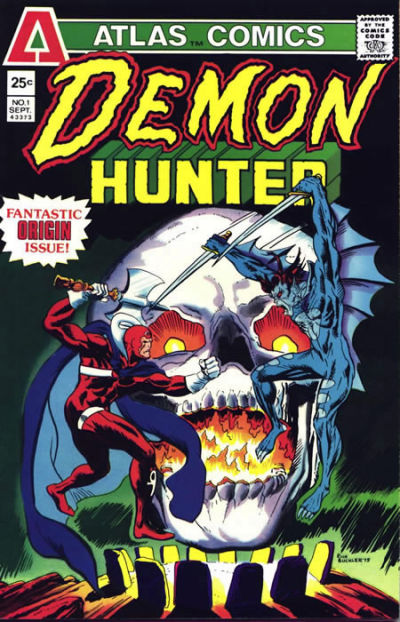 Cover for Demon-Hunter (Seaboard, 1975 series) #1