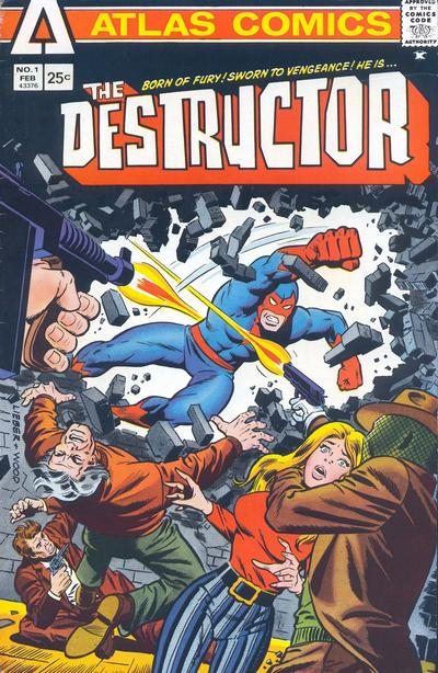 Cover for The Destructor (Seaboard, 1975 series) #1