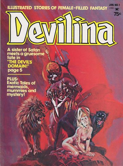Cover for Devilina (Seaboard, 1975 series) #1