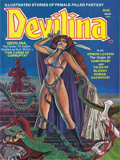 Cover for Devilina (Seaboard, 1975 series) #2
