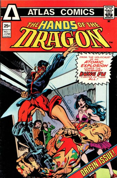 Cover for Hands of the Dragon (Seaboard, 1975 series) #1