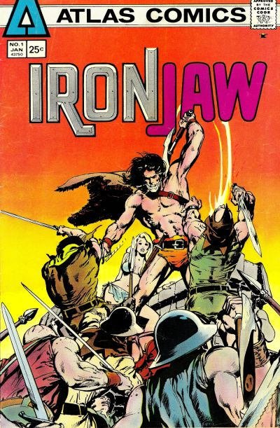 Cover for Ironjaw (Seaboard, 1975 series) #1
