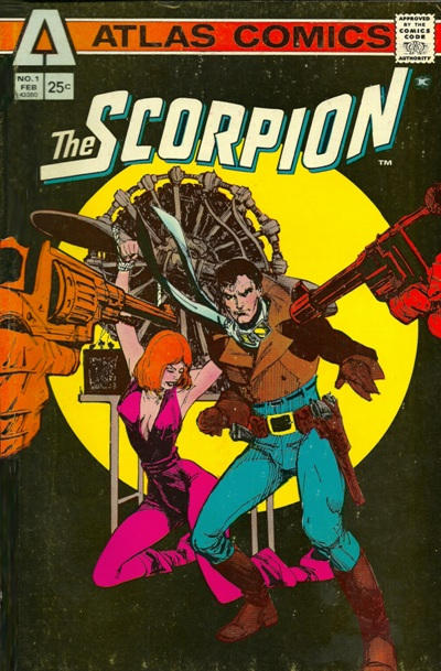 Cover for The Scorpion (Seaboard, 1975 series) #1