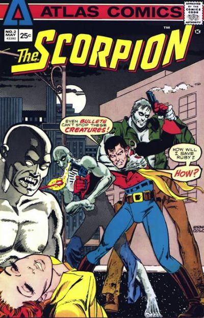 Cover for The Scorpion (Seaboard, 1975 series) #2