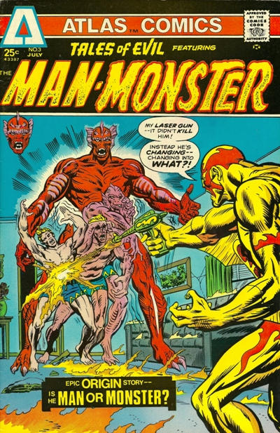 Cover for Tales of Evil (Seaboard, 1975 series) #3