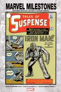 Cover Thumbnail for Marvel Milestones: Iron Man, Ant-Man & Captain America (Marvel, 2005 series)