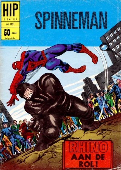 Cover for HIP Comics (Classics/Williams, 1966 series) #1921