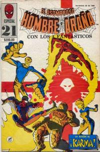 Cover Thumbnail for El Asombroso Hombre Araña Especial (Novedades, 1984 series) #21