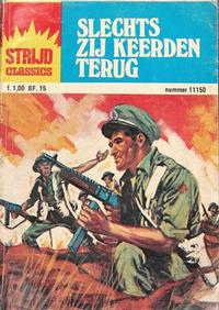 Cover Thumbnail for Strijd Classics (Classics/Williams, 1964 series) #11150