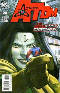 Cover Thumbnail for The All New Atom (DC, 2006 series) #24