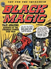 Cover Thumbnail for Black Magic Album (Arnold Book Company, 1954 series) #1