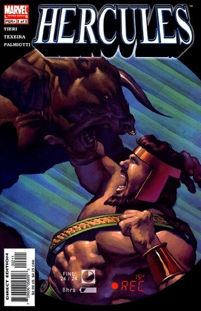 Cover for Hercules (Marvel, 2005 series) #2