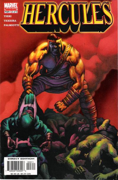 Cover for Hercules (Marvel, 2005 series) #3