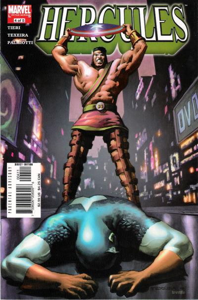 Cover for Hercules (Marvel, 2005 series) #4