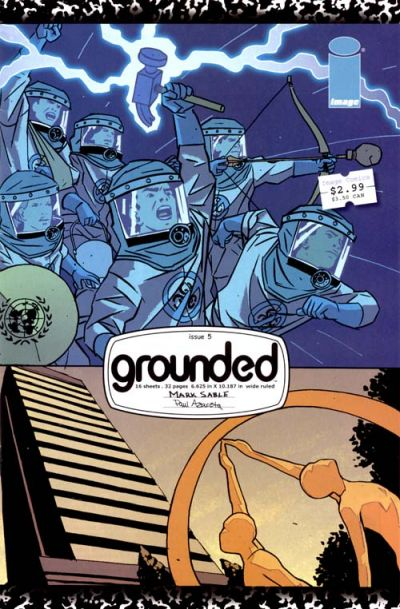 Cover for Grounded (Image, 2005 series) #5