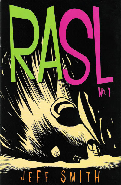 Cover for RASL (Cartoon Books, 2008 series) #1 [2nd Printing Cover by Jeff Smith]