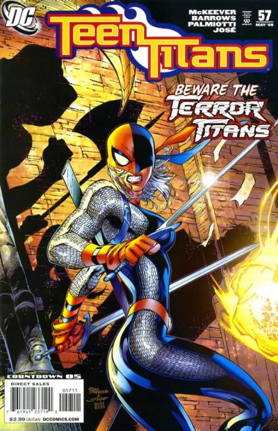 Cover for Teen Titans (DC, 2003 series) #57