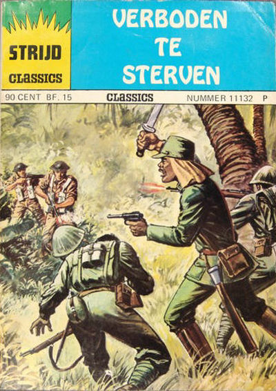 Cover for Strijd Classics (Classics/Williams, 1964 series) #11132