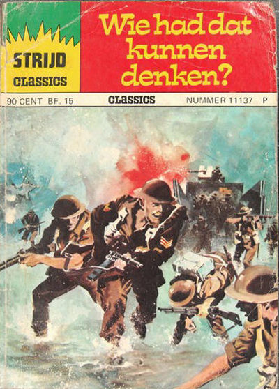Cover for Strijd Classics (Classics/Williams, 1964 series) #11137