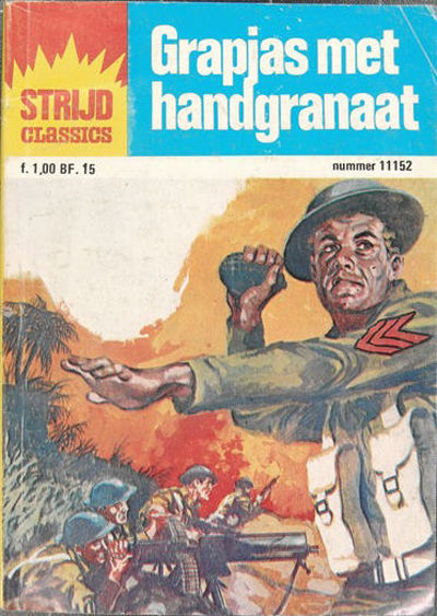Cover for Strijd Classics (Classics/Williams, 1964 series) #11152