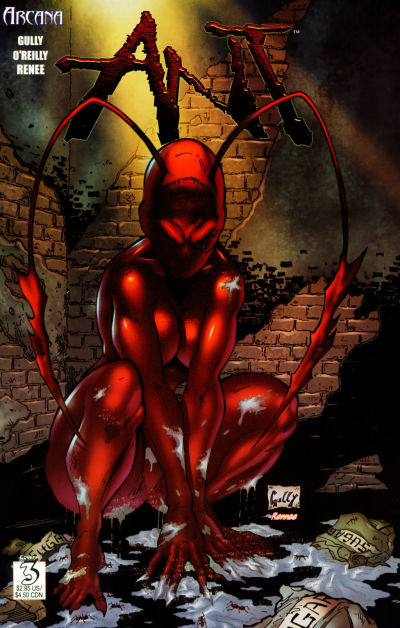 Cover for Ant (Arcana, 2004 series) #3 [Cover A]