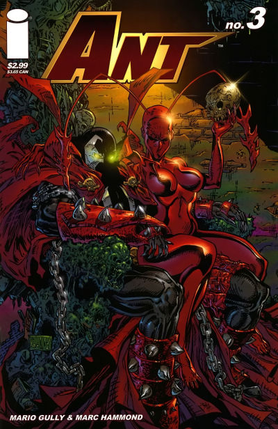 Cover for Ant (Image, 2005 series) #3