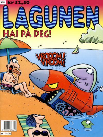 Cover for Lagunen Hai på deg! (Bladkompaniet, 1996 series)