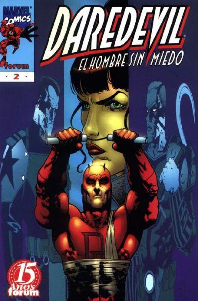 Cover for Daredevil (Planeta DeAgostini, 1998 series) #2