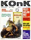 Cover for Konk (Bladkompaniet, 1977 series) #1/1984