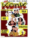 Cover for Konk (Bladkompaniet, 1977 series) #4/1985