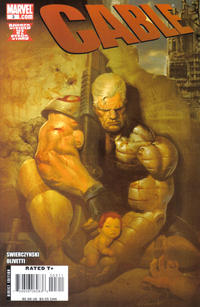 Cover Thumbnail for Cable (Marvel, 2008 series) #3 [Olivetti Cover]