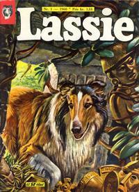Cover Thumbnail for Lassie (Serieforlaget / Se-Bladene / Stabenfeldt, 1959 series) #1/1960